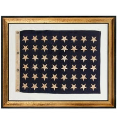 48 Star U.S Navy Jack, Made at Mare Island, California, Dated 1941