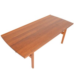 Refinished Solid Teak Coffee Table by Tove and Edvard Kindt - Larsen