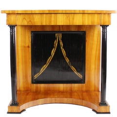Rare 19th Century Biedermeier Period Console, Cherry Tree, circa 1820