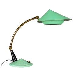 Vintage Italian Midcentury Adjustable Table Lamp