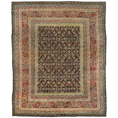 Vintage India Agra Rug with Modern Traditional Style