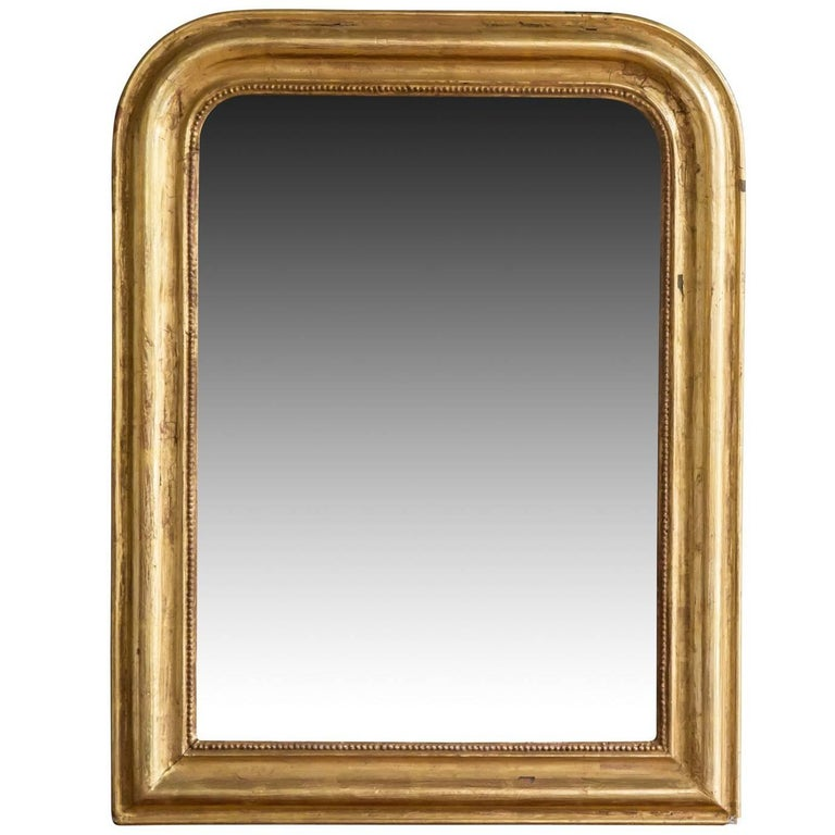 Antique french louis philippe style wall mirror for sale for Antique style wall mirror