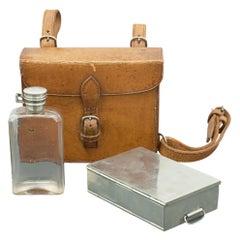 Sandwich Case and Spirit Flask