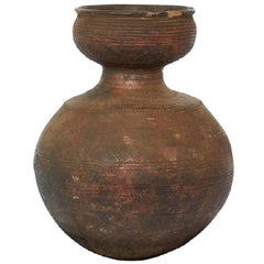 Early 20th Century African Clay Beer Pot