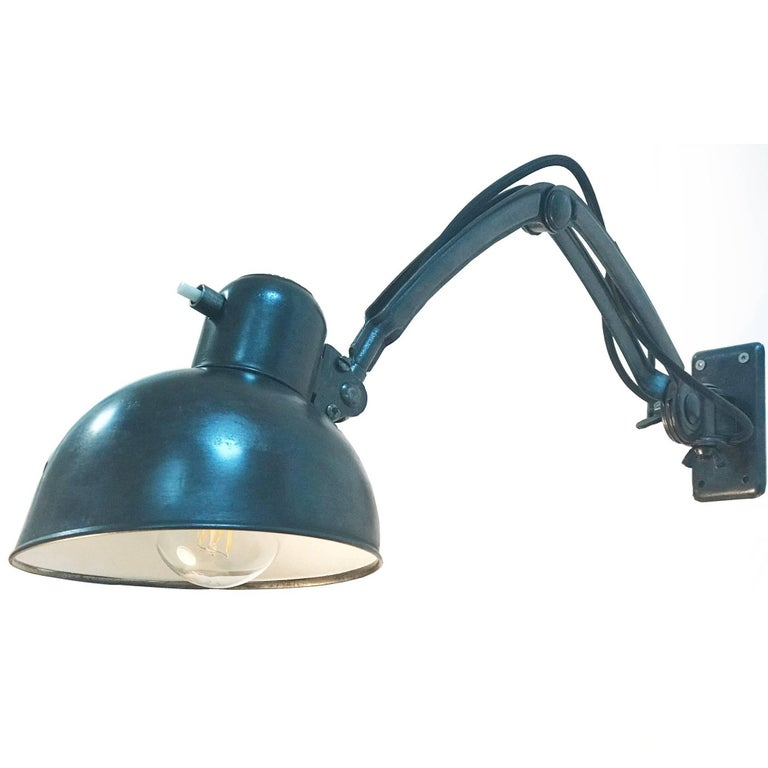 Christian Dell Wall Lamps For Sale At 1stdibs