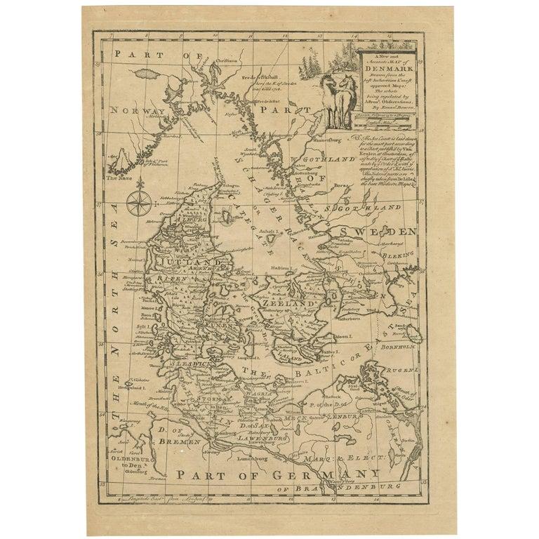 Bowen Antique Map Of Scotland At Stdibs - Antique map box