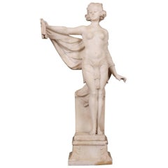 Adolpho Cipriani 'Italian, Active 1880-1930' Alabaster Figure