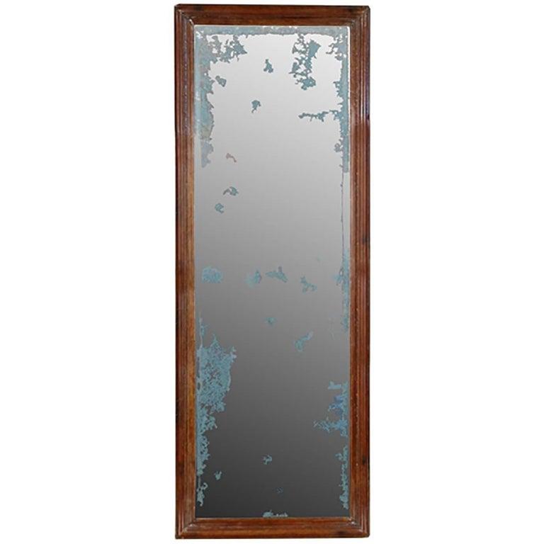 Chinese Mirror with Original Glass
