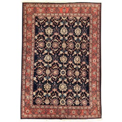 Handmade Persian Sarouk All over Rug