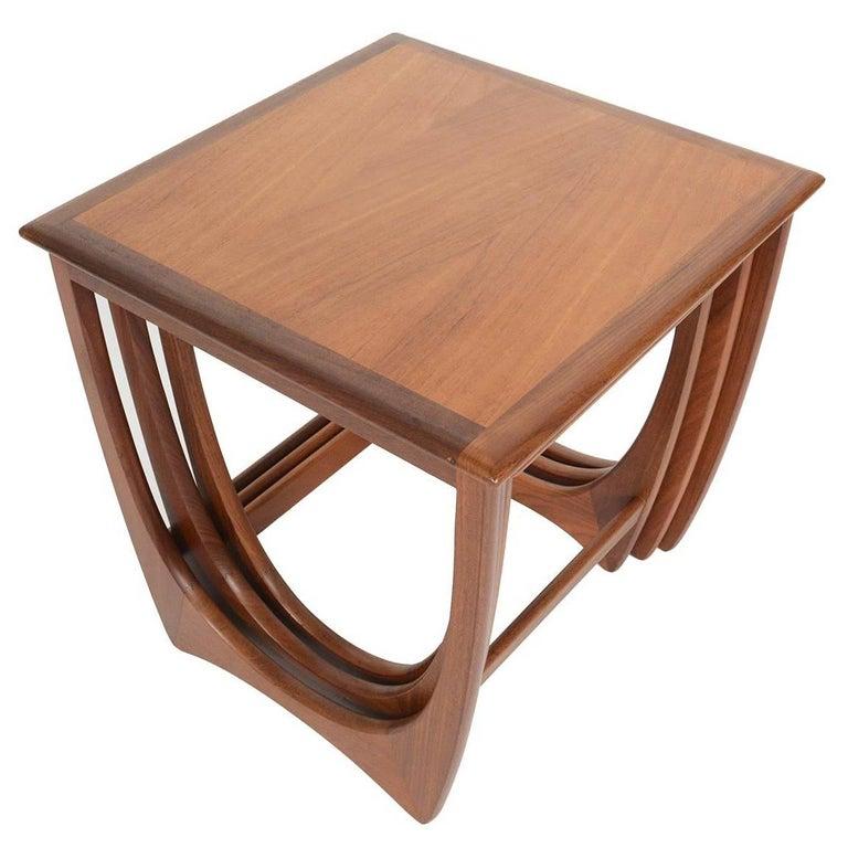 Set of G Plan Astro Teak Nesting Tables #2