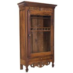 18th Century Provencal Miniature Armoire or Verrio