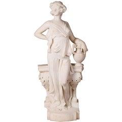 Romanelli, Marble Statue of Pandora