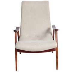 Mid-Century Modern Brazilian Armchair by Gelli