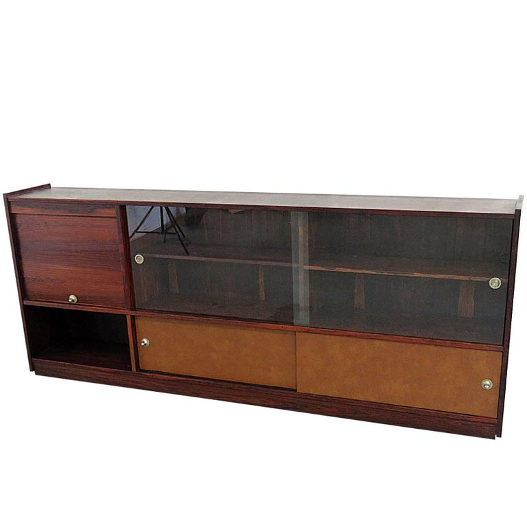 Frattini Rosewood TV Console or Bookcase