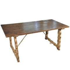 19th Century Farm Table from Portugal