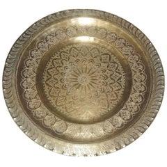 Vintage Moorish Midcentury Tray