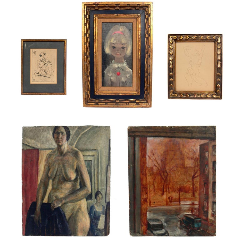 Selection of Modern Artwork or Gallery Wall