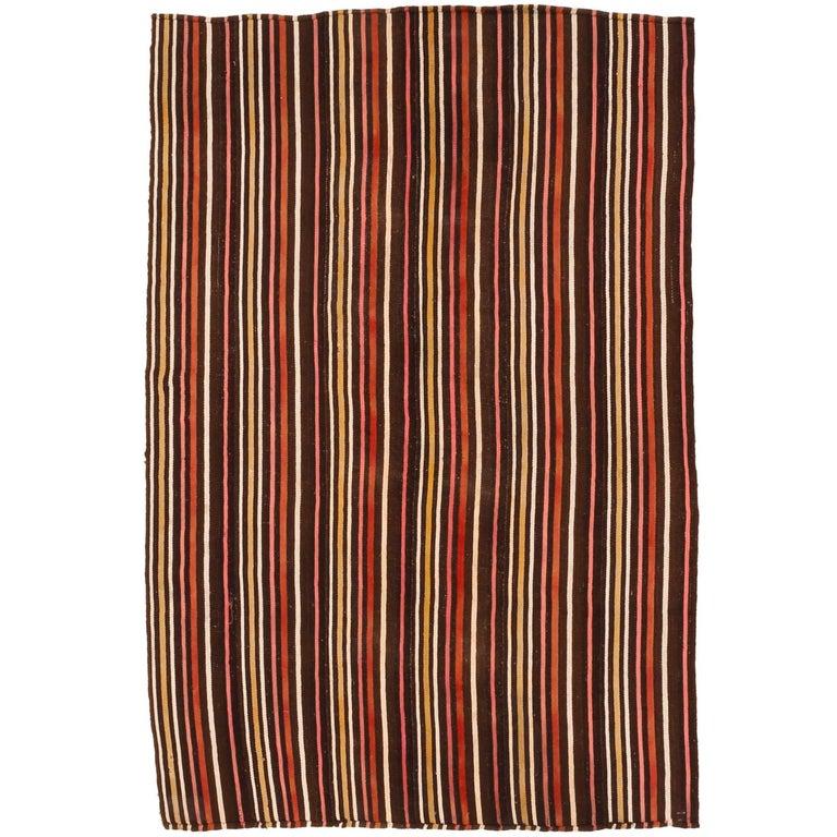 Vintage Central Anatolian Kilim Rug