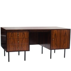 Forma Midcentury brazilian writing table in Rosewood, 1960s