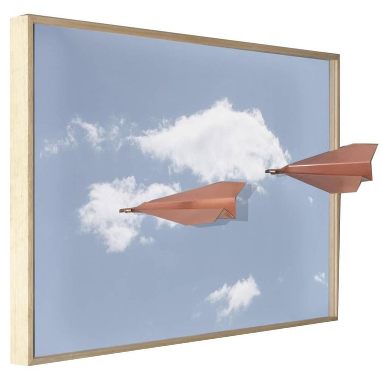 Airplane on a Frame Picture