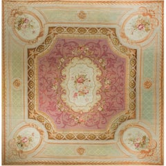 Antique French Aubusson, circa 1890