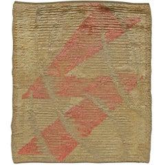 Mid-century Swedish Pile Rug