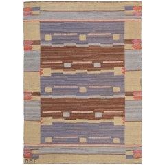 Vintage Swedish Flat-Weave by Mmf Blåsvarten