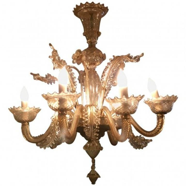 Murano Grand Glass Chandelier