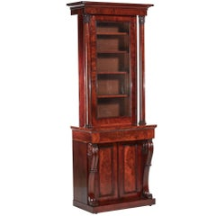 Quality William IV Mahogany Bookcase