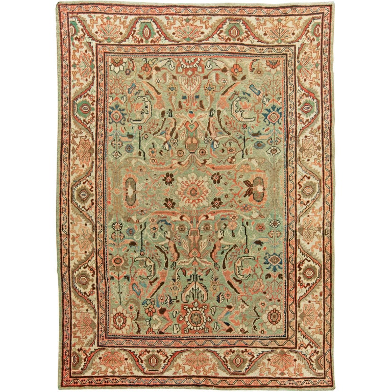 Antique Persian Sultanabad Rug At 1stdibs