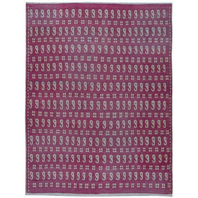Vintage Persian Meshad Rug For Sale At 1stdibs