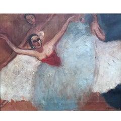 Mary Audsley British Artist, Ballerinas