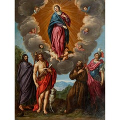 Assumption of the Virgin Mary, Circle of Van De Kasteele, Frans