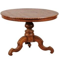 19th Century Italian Sorrento Beautiful Inlaid Wood Centre Table