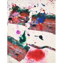 Sam Francis Painting SF80-1191, Original Work