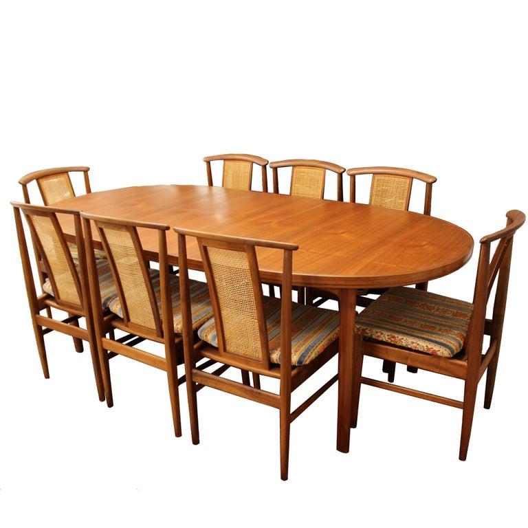 Mid-Century Modern Folke Olsson DUX Dining Set, 1960s