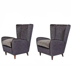 Easy Chairs by Paolo Buffa from the Bristol Hotel