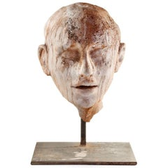 Restless Head Sculpture
