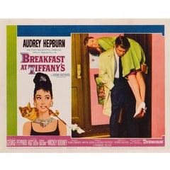"""Breakfast At Tiffany's"" Original US Lobby Card"