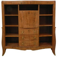 Art Deco Bookcase in Palisander Veneer