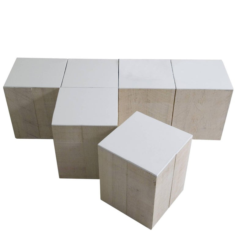 Crossword Coffee Table Cubes