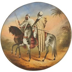 Austrian Orientalist Plate, Made for the Islamic Market, 19th Century