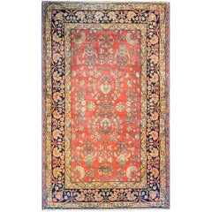 Beautiful Early 20th Century Persian Kirman Rug
