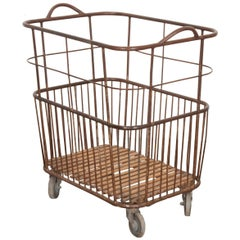 French Early 20th Century Baguette Cart