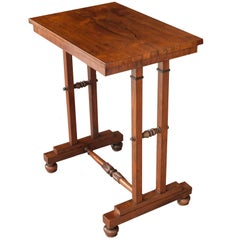 English 19th Century George IV Rosewood Library Table