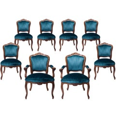 Very Exceptional 18th Century Set Rococo Dining Chairs