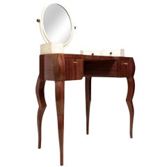 Dressing Table in Macassar Ebony and Shagreen