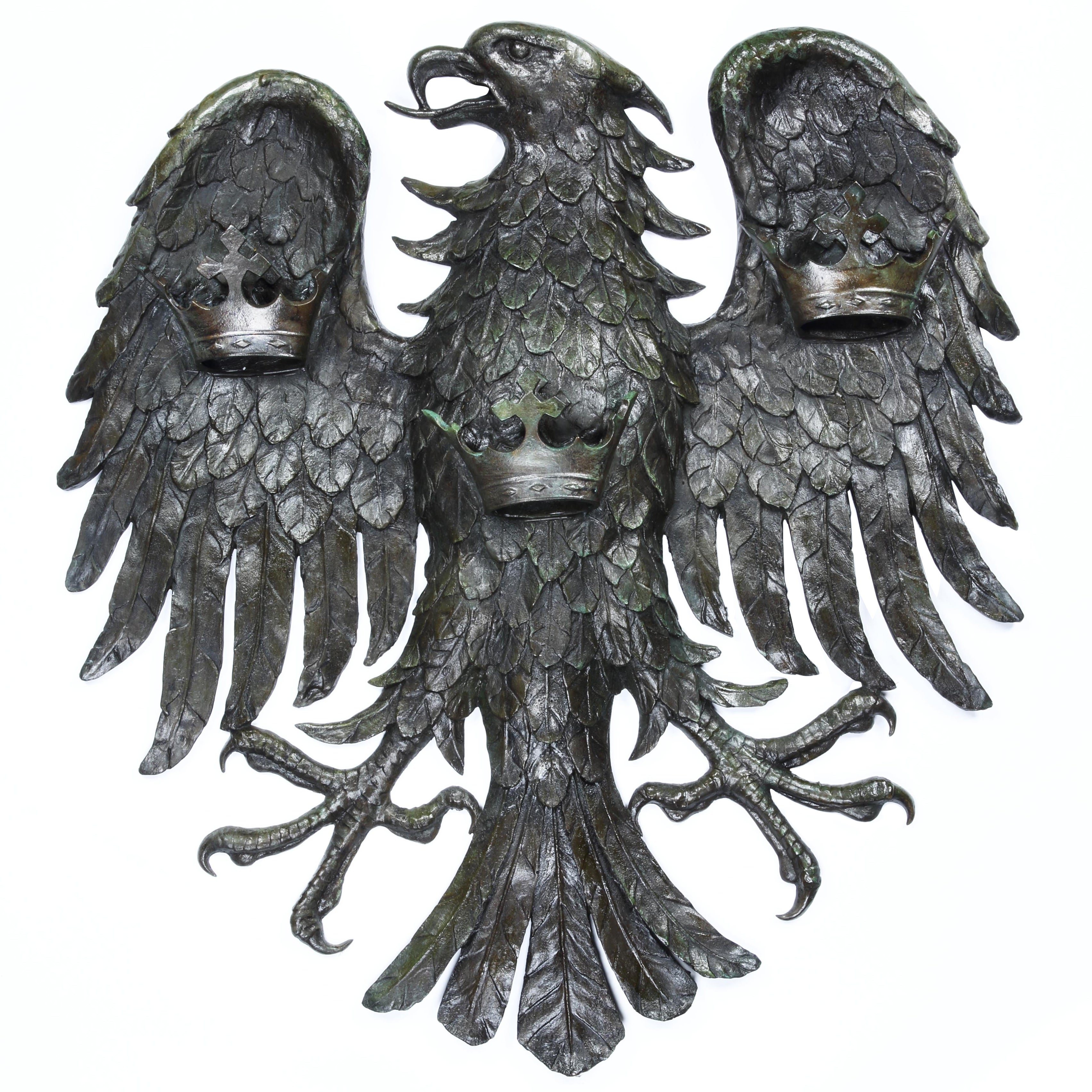 'Spread Eagle' Bronze Wall Relief, Barclays Bank