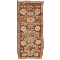 Vintage Turkish Kars Rug