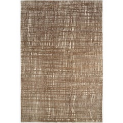 Contemporary Wool And Silk Area Carpet by Joseph Carini 6x9